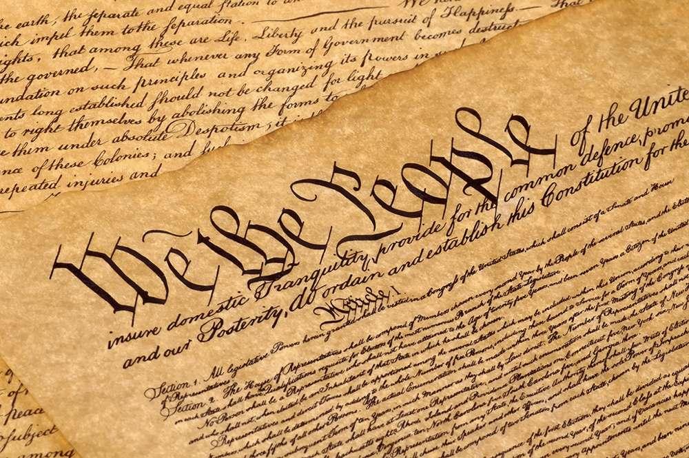 We the people, l'apertura della Costituzione americana