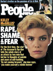 Kelly McGillis sul numero di People in cui raccontava del suo stupro