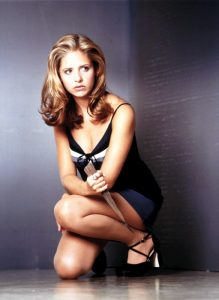 Sarah Michelle Gellar in Buffy l'ammazzavampiri