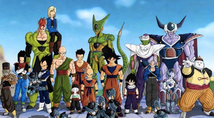 Il cast di Dragon Ball Z