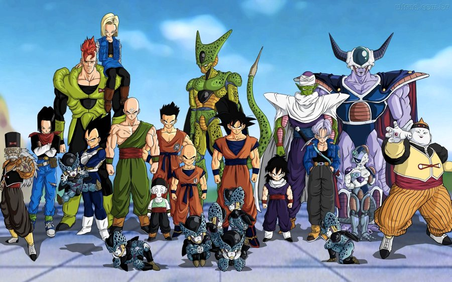 Il cast di Dragon Ball Z