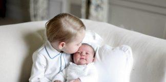 Esploriamo i nomi femminili inglesi più diffusi a partire dalla piccola Charlotte d'Inghilterra (qui con suo fratello George)