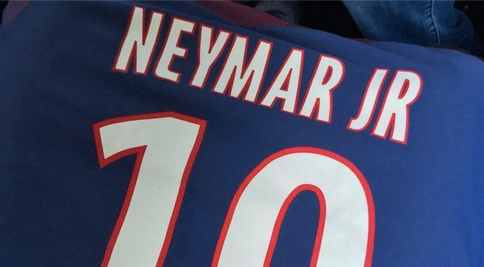 La nuova maglia di Neymar al Paris Saint-Germain