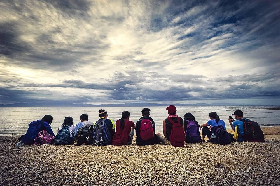 Vivere all'estero come ragazza o ragazzo alla pari è anche un'occasione per stringere delle amicizie