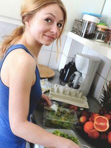 Facendo la ragazza alla pari si imparano molte cose, anche a cucinare