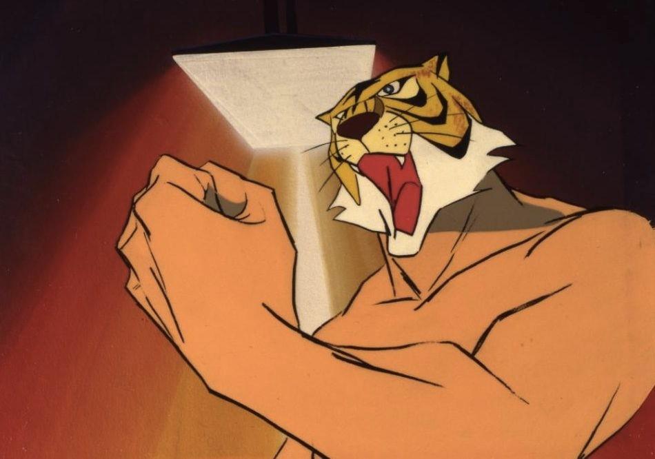L'Uomo Tigre, protagonista del celebre anime