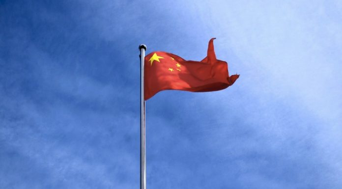 La bandiera rossa cinese