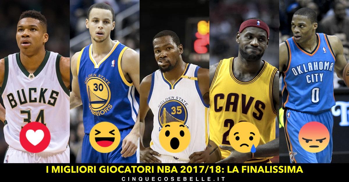 La finale del nostro sondaggio per decidere il miglior giocatore della NBA
