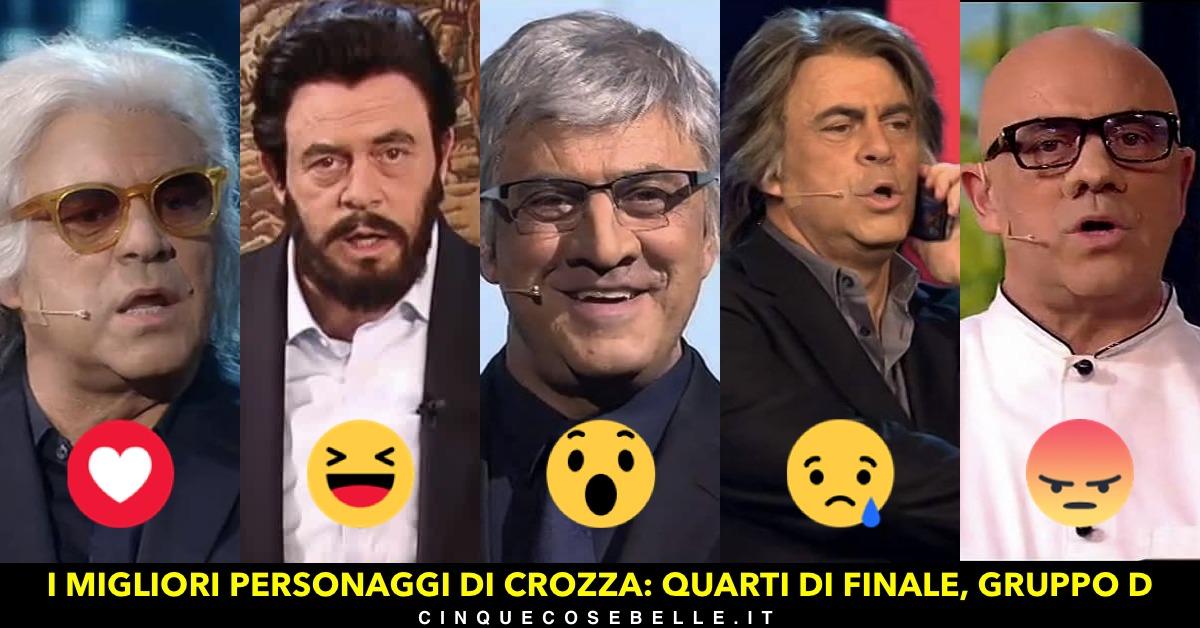 Continua il nostro sondaggio sui personaggi di Maurizio Crozza