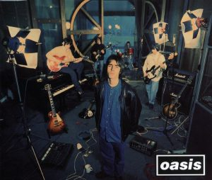 La copertina di Supersonic, primo successo degli Oasis