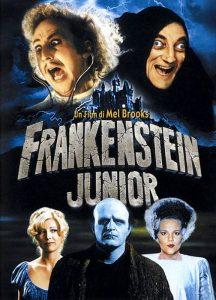 La locandina di Frankenstein Junior, ottimo film per Halloween