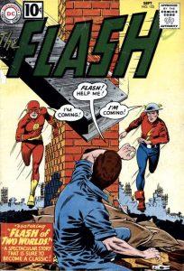 Flash of Two Worlds, una delle storie più celebri e importanti degli anni '60