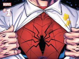 La copertina del primo numero della nuova serie di Peter Parker: the Spectacular Spider-Man