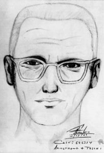 L'identikit del killer dello Zodiaco preparato dalla polizia californiana