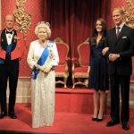 La famiglia reale inglese al Madame Tussauds di Londra (foto di Karen Roe via Flickr)