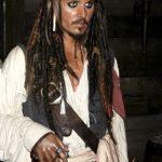 Johnny Depp nei panni di Jack Sparrow al Madame Tussauds di Londra (foto di Ashley Rehnblom via Flickr)