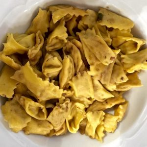 Un piatto di ravioli del plin (foto di Marco Varisco via Flickr)