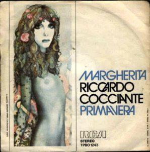 Il singolo di Margherita, una delle più belle canzoni di Riccardo Cocciante
