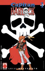 Il manga di Capitan Harlock
