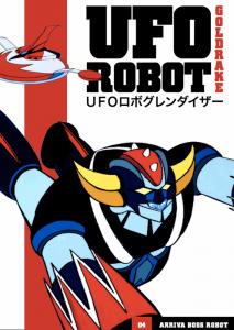 Una delle raccolte delle avventure di Ufo Robot