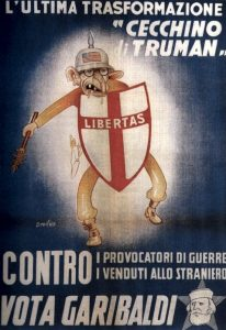 Manifesto del Fronte Popolare italiano nel 1948