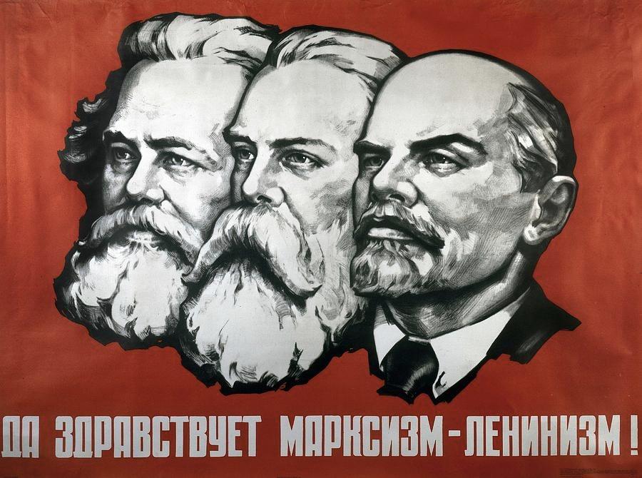 Da Marx a Lenin in un manifesto russo