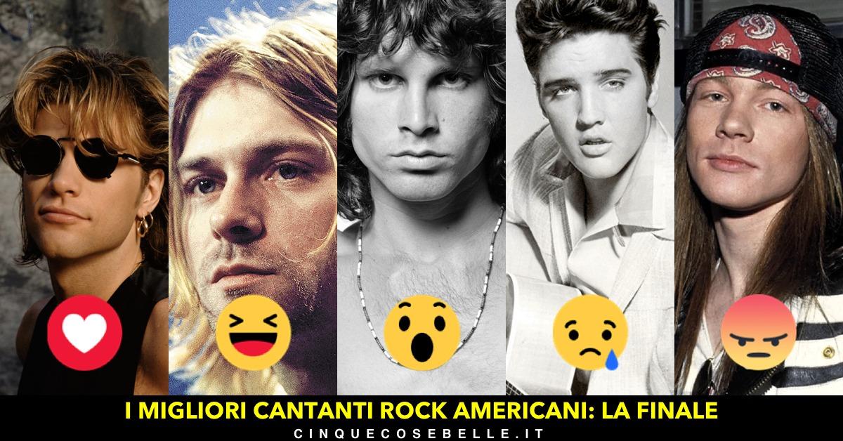La finale del sondaggio sui migliori cantanti americani
