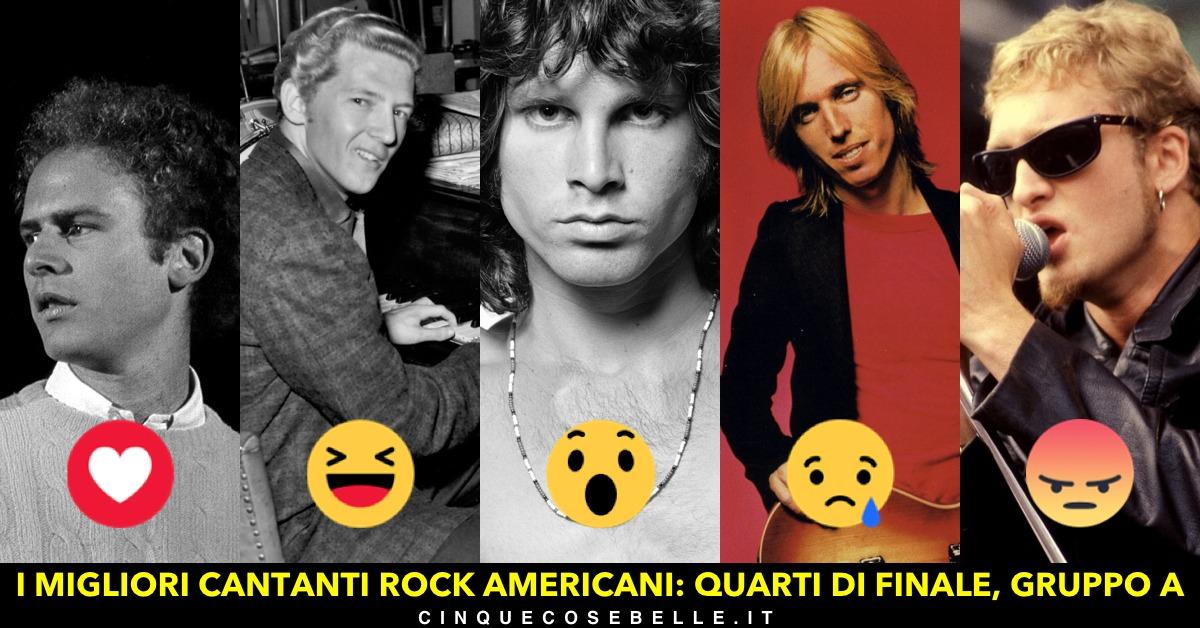 Decidiamo insieme i migliori cantanti rock americani: ecco il gruppo A