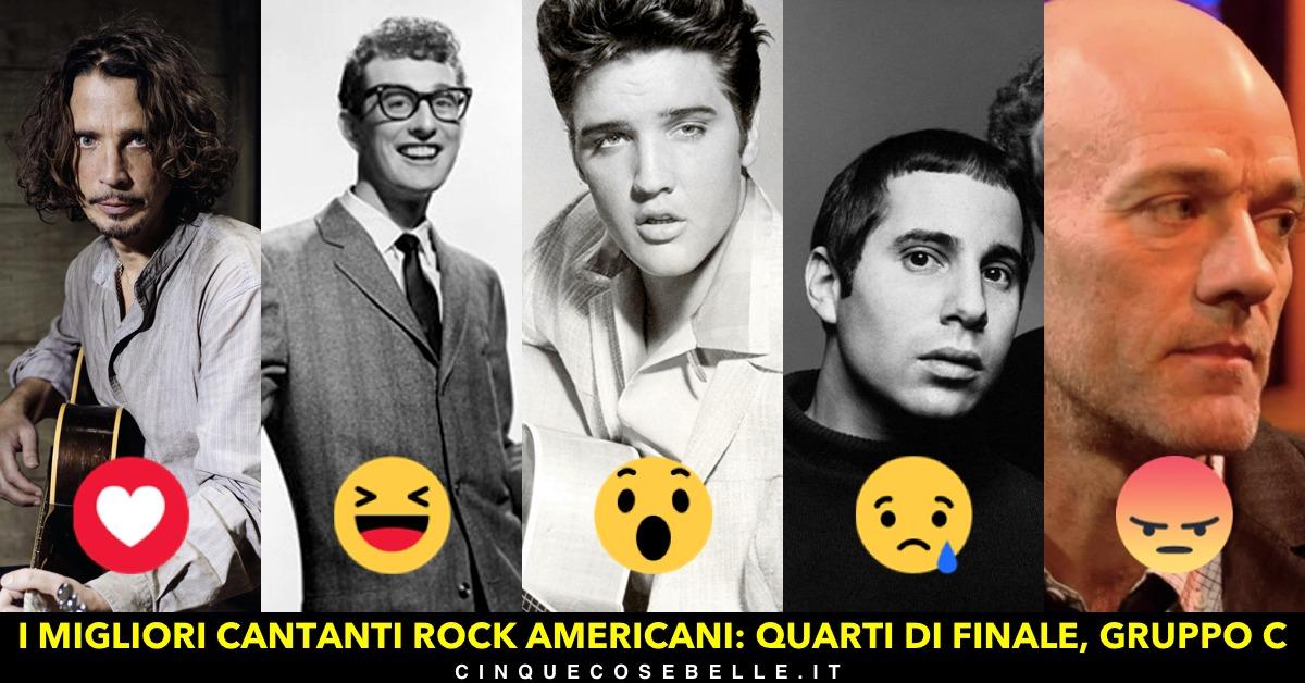 Il gruppo C del nostro sondaggio sui migliori cantanti americani