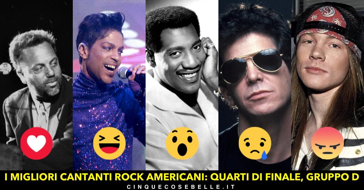 Cantanti americani: il gruppo D