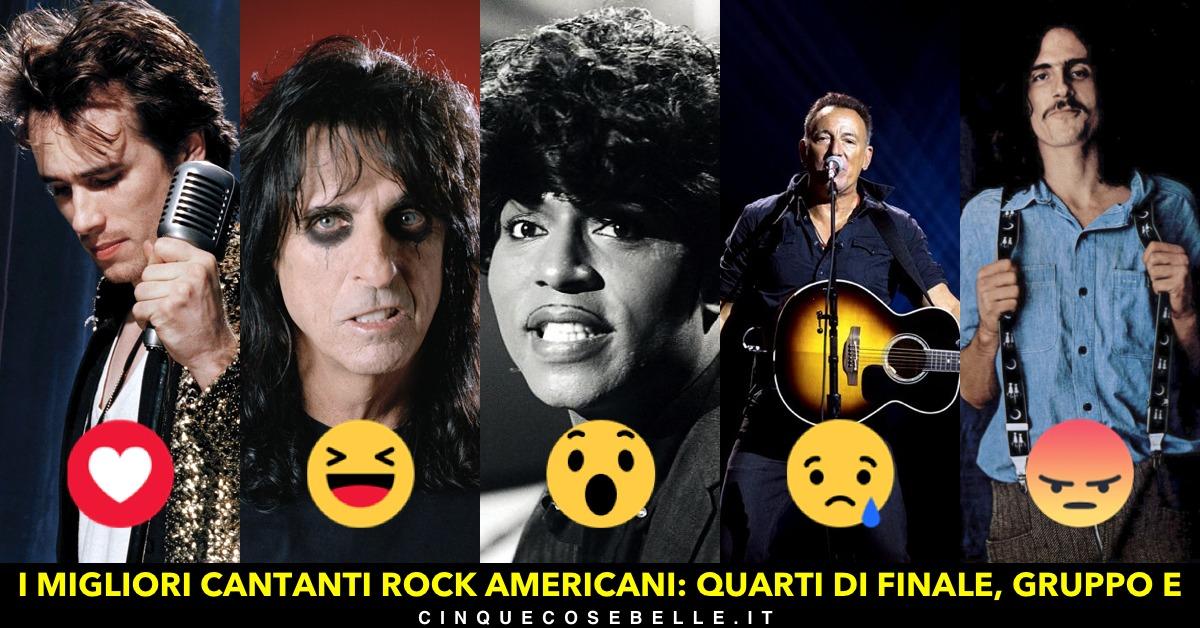 Qual è il migliore tra i cantanti rock americani?