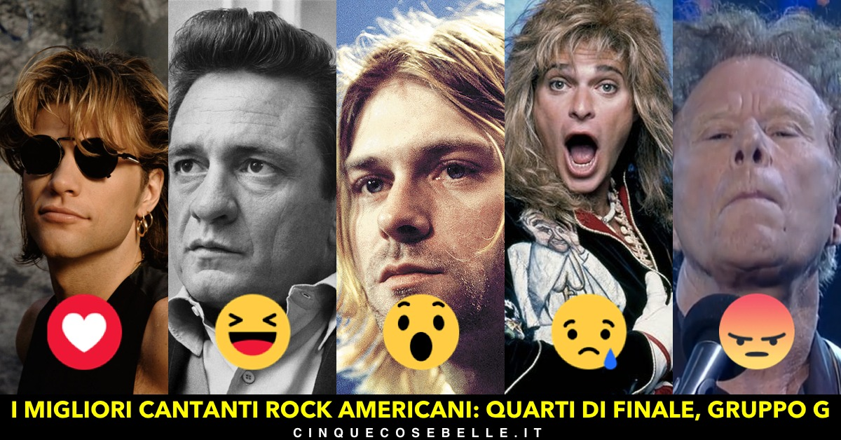 L'ultimo quarto di finale del sondaggio sui cantanti americani