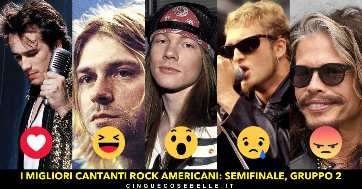 Il gruppo 2 delle nostra semifinali per determinare il miglior cantante americano