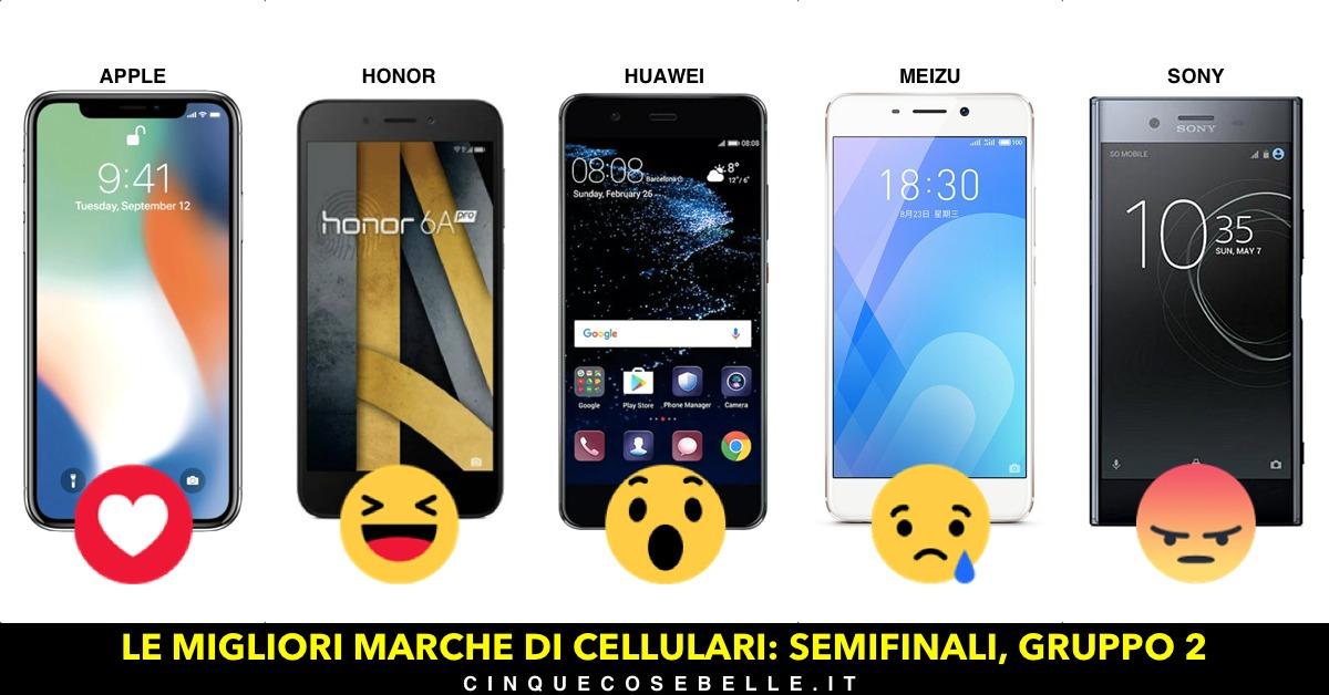 Marche Di Cellulari Smartphone E Telefoni Tutte Le Migliori