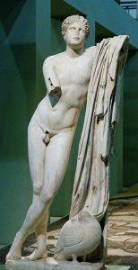 Il Pothos di Skopas, uno dei grandi capolavori dell'arte greca classica (foto di Marie-Lan Nguyen via Wikimedia Commons)