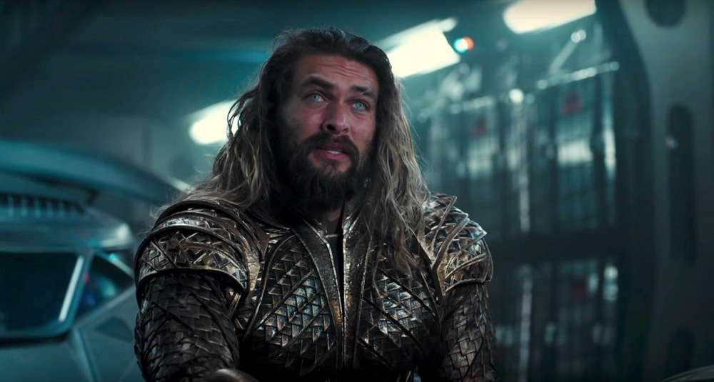 Jason Momoa, che in Justice League interpreta Aquaman