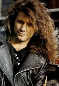 Jon Bon Jovi negli anni '80