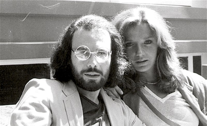Antonello Venditti con Simona Izzo negli anni '70