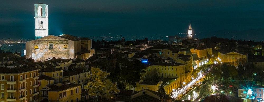 Perugia di notte