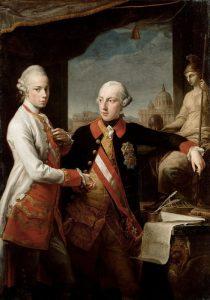 Giuseppe II con il fratello Pietro Leopoldo