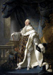 Luigi XVI nel ritratto ufficiale di Antoine-François Callet