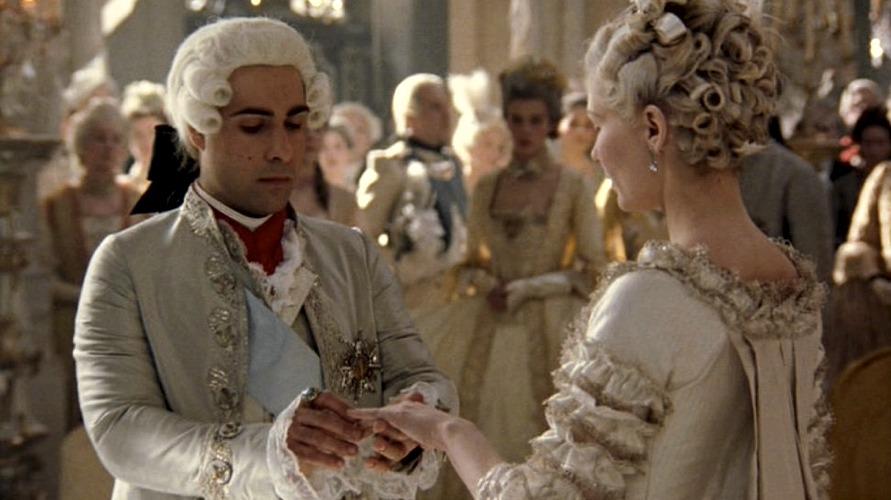 Maria Antonietta e Luigi XVI nel film di Sofia Coppola