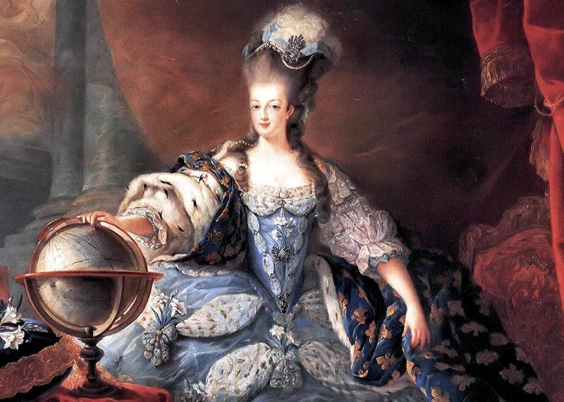 Maria Antonietta nel 1775, ritratta da Jean-Baptiste André Gautier-Dagoty