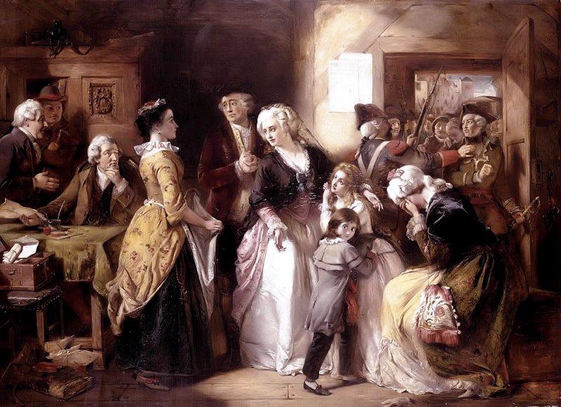L'arresto della famiglia reale a Varennes