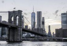 Il ponte di Brooklyn, che porta in uno dei più popolosi quartieri di New York