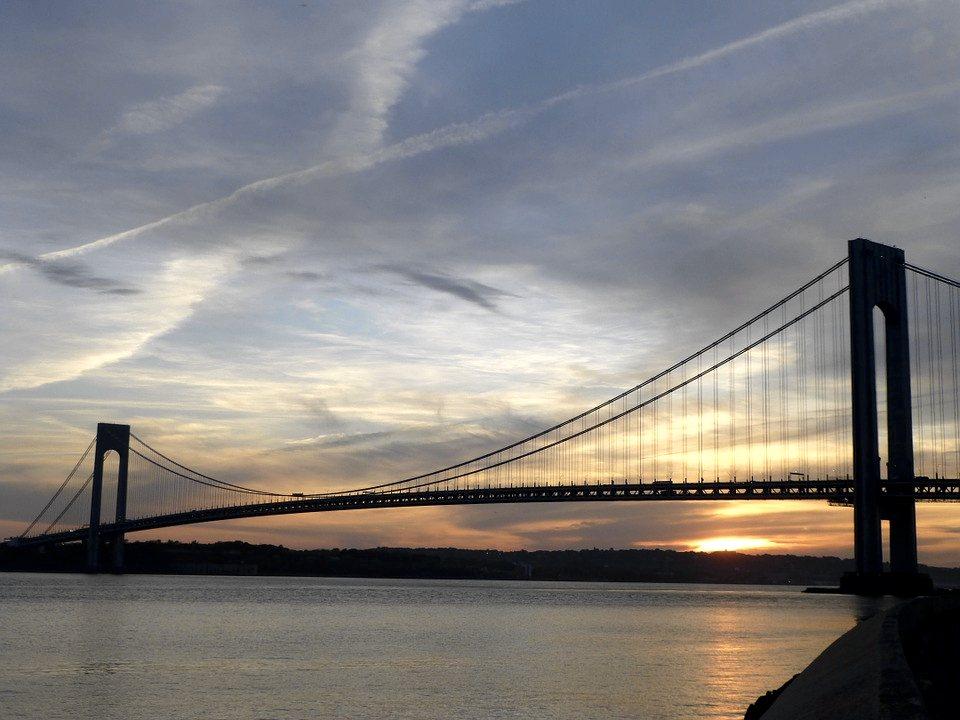 Il Ponte di Verrazzano che porta a Staten Island