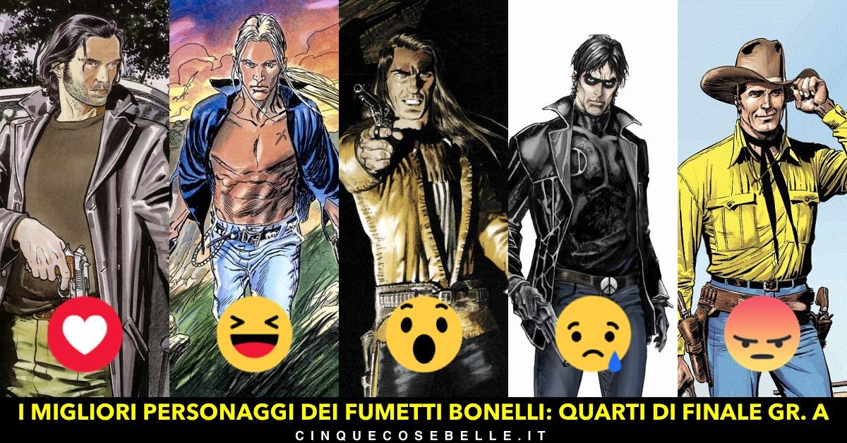 Parte il sondaggio per trovare il miglior personaggio dei fumetti Bonelli