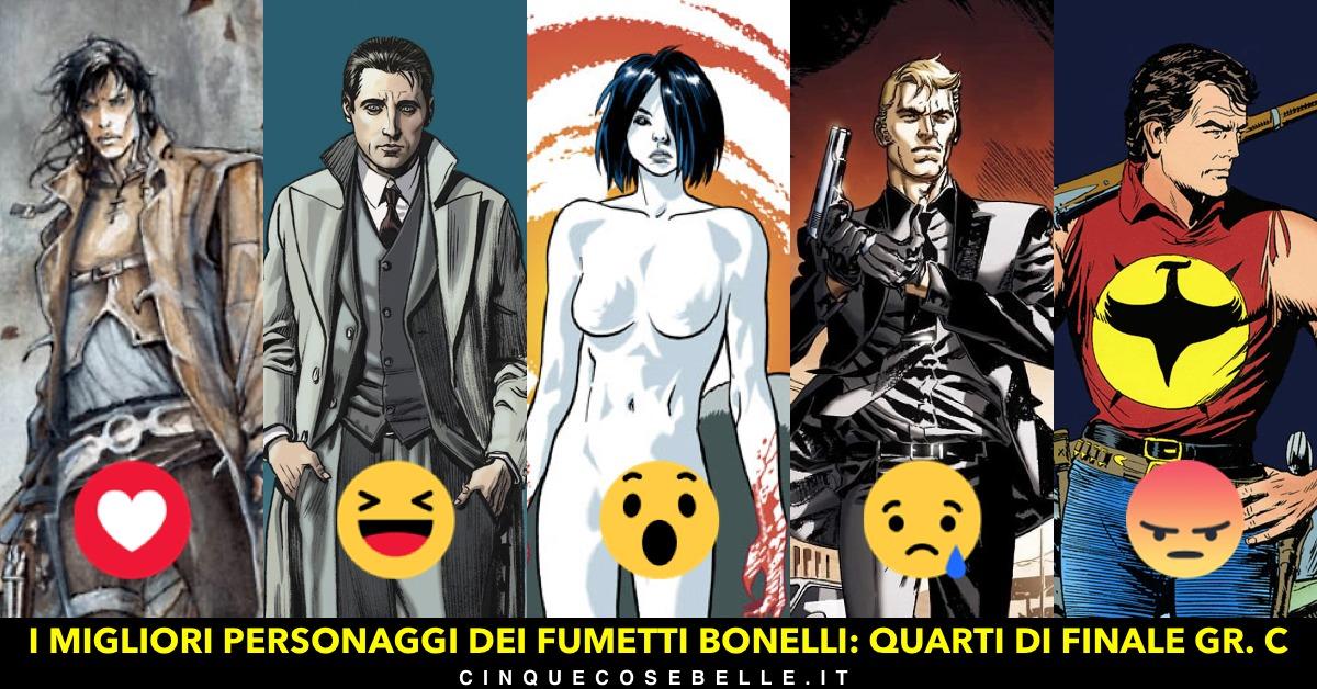 Qual è il miglior personaggio dei fumetti Bonelli? Ecco il gruppo C