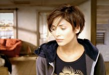 Natalie Imbruglia nel famoso video di Torn