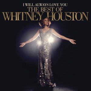Whitney Houston, interprete di una delle cover di canzoni più celebri, I Will Always Love You